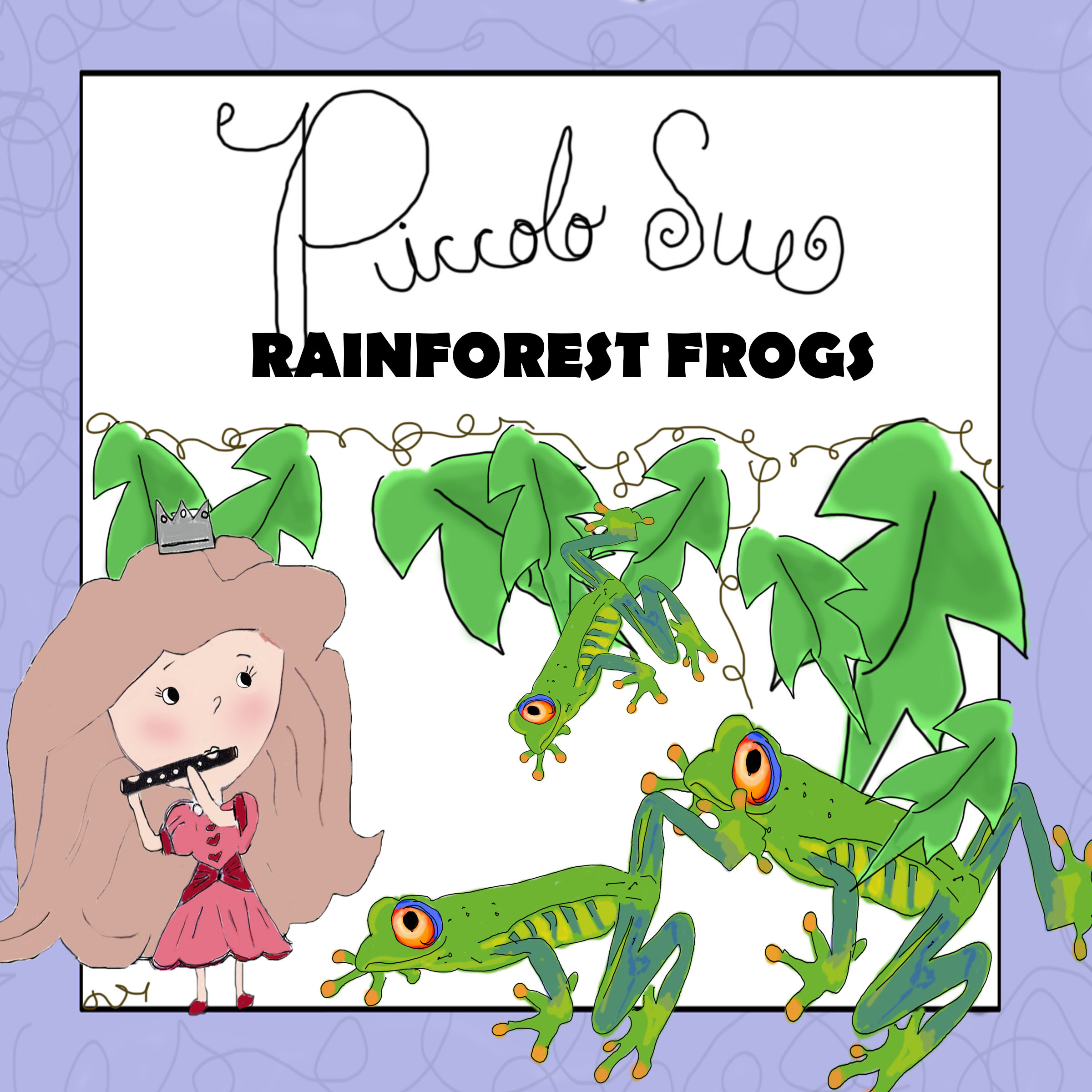 Song VIDEO: Rainforest Frogs