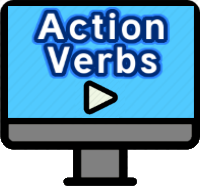 Action Verbs by RoomRecess.com